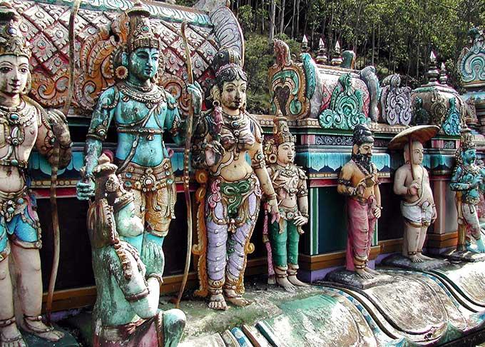 スリランカの寺院